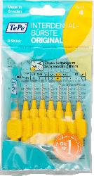 TePe Interdentalbürsten gelb 0,7mm ISO 4