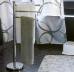 NKD Stand-Handtuchhalter mit drehbaren Armen, ca. 22x86cm
