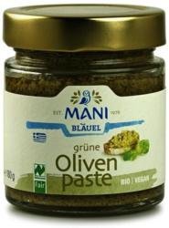 Olivenpaste aus grünen Oliven