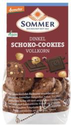 Dinkel Schoko Vollkorn Cookies