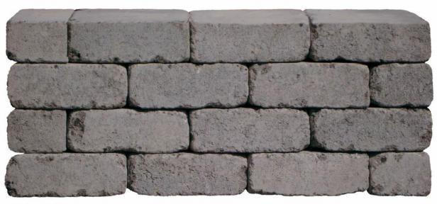 Diephaus Mauersteine Antik, 28x21x7 cm, Anthrazit
