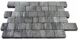 Diephaus Lage-Pflastersteine Nature, 6 cm, Weiß-Schwarz, PE2, 1,04 m²