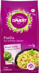 Paella, mit echtem Safran