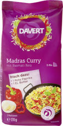 Madras Curry mit Basmati Reis