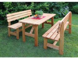 Holz-Garnitur Summer, honigbraun