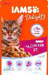dm-drogerie markt IAMS Nassfutter für Katzen, Delights, Senior, Huhn in Sauce