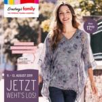 Ernsting's family Ernsting´s Family - Jetzt weht's los! - ab 09.08. - bis 19.08.2019