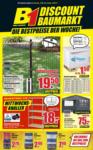 B1 Discount Baumarkt Wochen Angebote - bis 17.08.2019