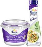 real Rama Cremefine zum Verfeinern, zum Kochen oder zum Aufschlagen, jeder 200-g-Becher/jede 250-ml-Flasche - bis 17.08.2019