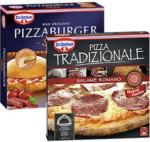 real Dr. Oetker Pizza Burger oder Tradizionale gefroren, jede 365-g-Packung und weitere Sorten - bis 17.08.2019