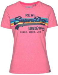 T-Shirt ´V Logo Retro Rainbow Entry´