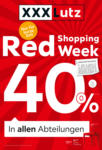 XXXLutz Red Shopping Week - bis 25.08.2019