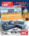 Opti Wohnwelt Neueröffnung - bis 31.08.2019