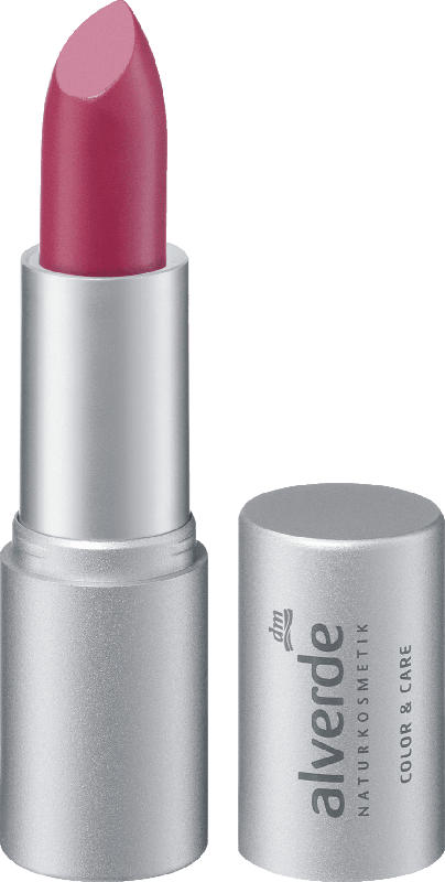 alverde NATURKOSMETIK Lippenstift Color & Care Pink Magnolia 28
