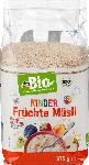 dm-drogerie markt dmBio Müsli, Früchte für Kinder