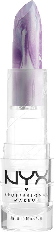 NYX PROFESSIONAL MAKEUP Lippenstift Faux Marble lilac 01