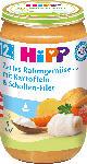 dm-drogerie markt Hipp Kindermenü Zartes Rahmgemüse mit Kartoffeln & Schollen-Filet ab 12. Monat