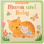 """Ernsting's family - Löwenpark Baby Buch """"Mama und Baby"""""""