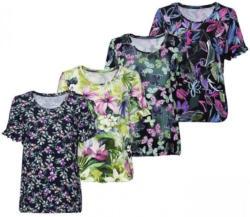 Damen-T-Shirt mit fantasievollem Muster