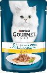 dm-drogerie markt GOURMET Nassfutter für Katzen, Perle Erlesene Streifen mit Huhn