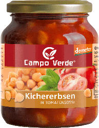 Campo Verde Kichererbsen, in Tomatensoße, demeter