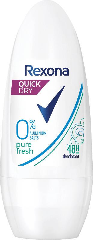 Rexona Deo Roll On Deodorant pure fresh