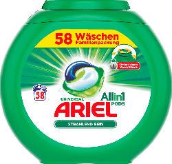 ARIEL Vollwaschmittel All-in-1 PODS Universal