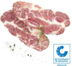 Frisches Schweinenackenkotelett natur,    je 1 kg
