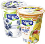 real alpro Soya Vegane Alternative versch. Sorten, jeder 400/500-g-Becher - bis 24.08.2019