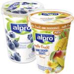 real alpro Soya Vegane Alternative versch. Sorten, jeder 400/500-g-Becher - bis 24.08.2019