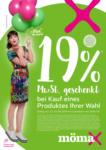 MömaX 19% Gutscheinheft - bis 31.08.2019