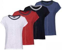 Damen-T-Shirt mit Glitzerband