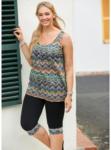 NKD Damen-Leggings mit Zick-Zack-Muster, große Größen