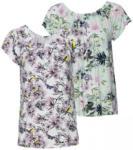 NKD Damen-T-Shirt mit malerischem Blumenmuster