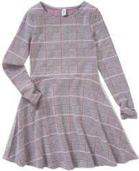 Mädchen Kleid mit Glitzerstreifen
