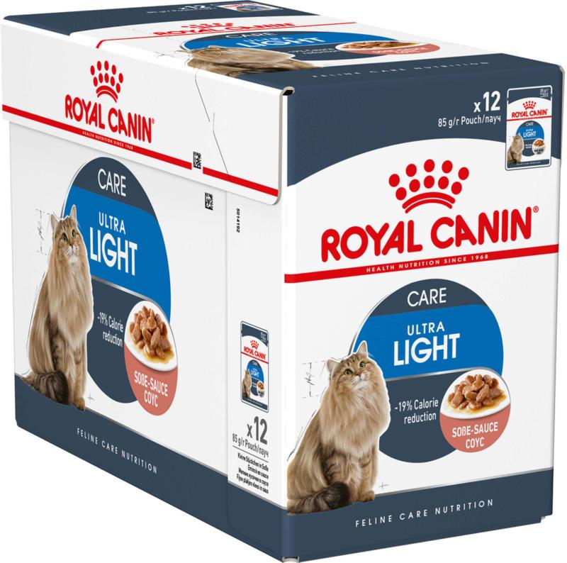 Royal Canin Chat Ultra Light Sauce 12x85g