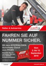 PROFI REIFEN Flugblatt 26.08. bis 13.09.