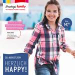Ernsting's family Ernsting´s Family - Herzlich Happy - ab 30.08. - bis 09.09.2019