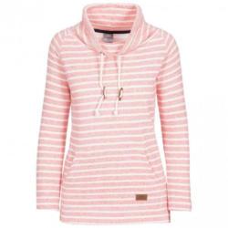 Trespass Sweatshirt »Damen Cheery mit weitem Stehkragen, gestreift«