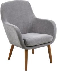 Sessel in Textil Grau