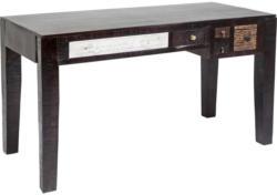 Schreibtisch in Holz, Metall, Holzwerkstoff
