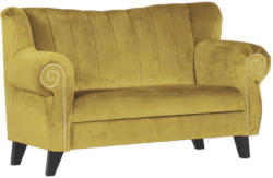 Sofa In Textil Gelb