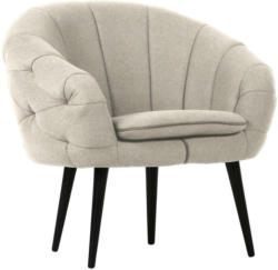 Sessel in Textil Naturfarben