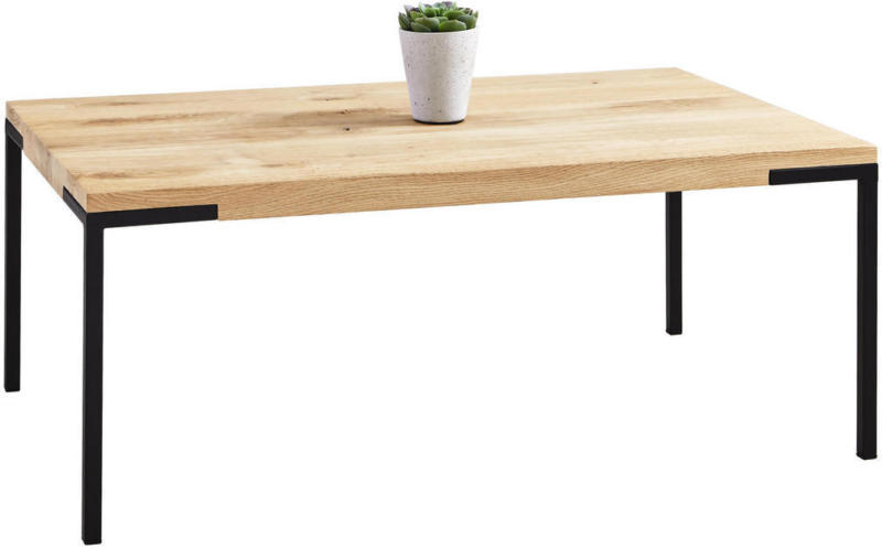 Couchtisch in Holz, Metall 100/60/34 cm