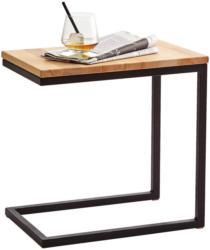 Beistelltisch In Holz, Metall 30/45/45 Cm
