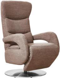 Relaxsessel in Textil Braun