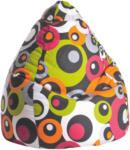 XXXLutz Braunau Sitzsack In Textil Braun, Orange, Weiß, Pink