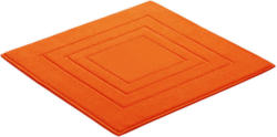Badematte 60/60 cm Orange