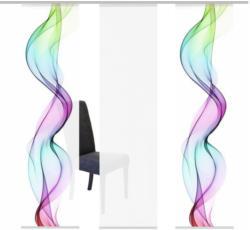 Flächenvorhang in Multicolor