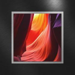 Glasbild 50/50/3,50 cm